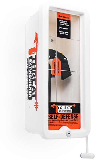 Threat Extinguisher Defense System Smart Case